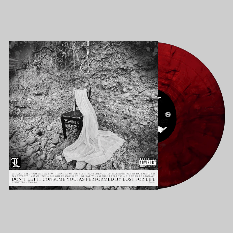 """""""DON'T LET IT CONSUME YOU"""" RED VINYL"""