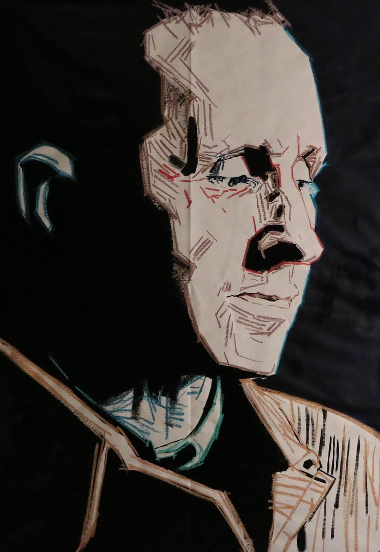 Image of Bertold Brecht by Restivo
