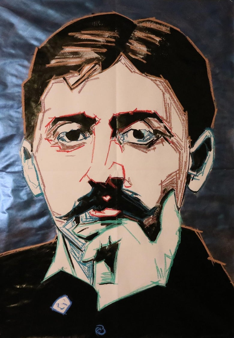 Image of Marcel Proust by Restivo