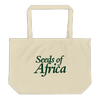 Seeds of Africa Large Zipper Tote