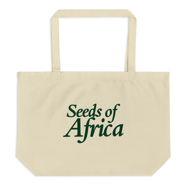 Image of Seeds of Africa Large Zipper Tote