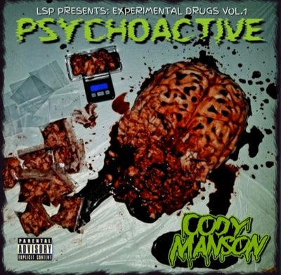 Image of CODY MANSON: PSYCHOACTIVE