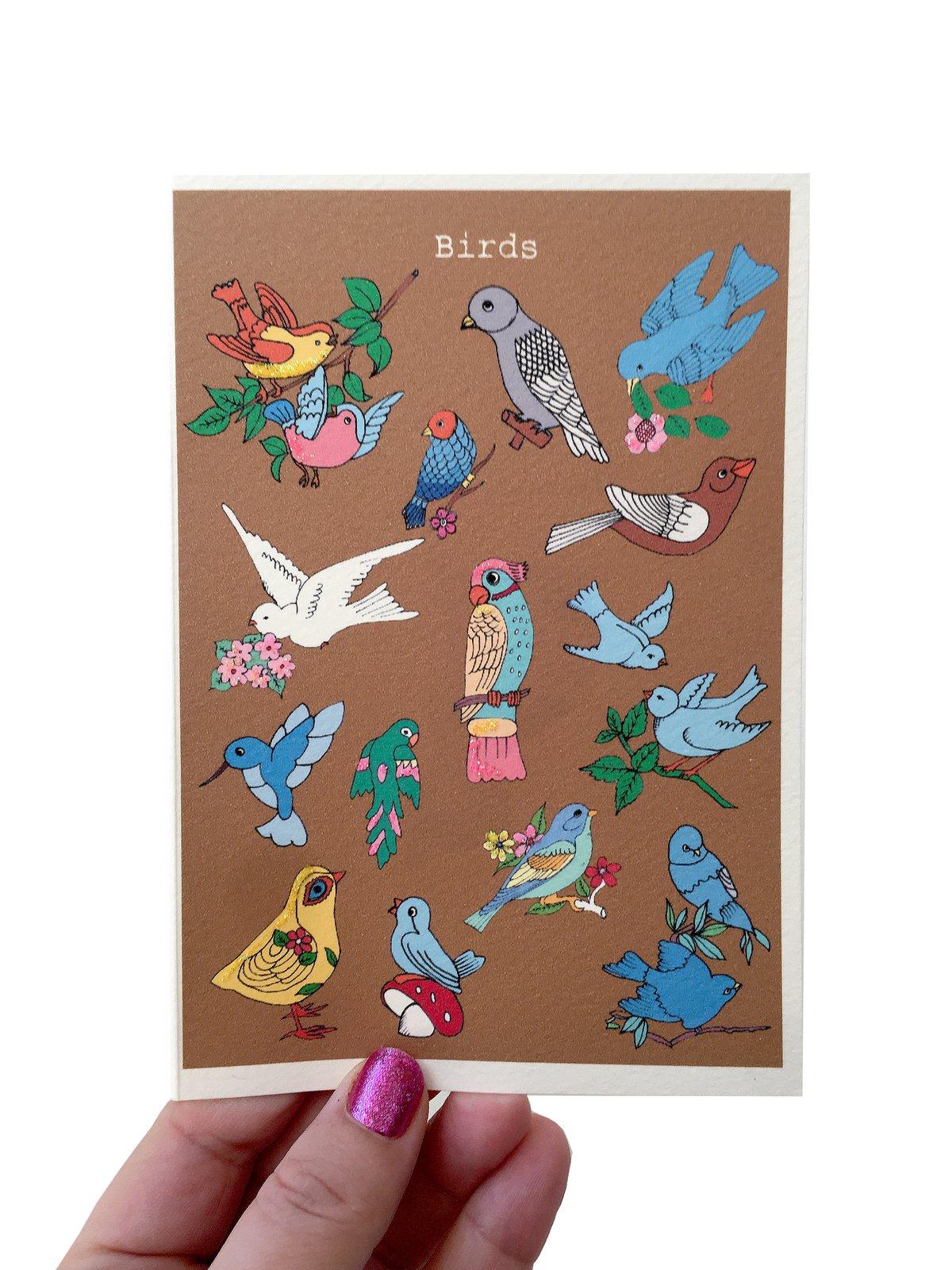 Birds Card