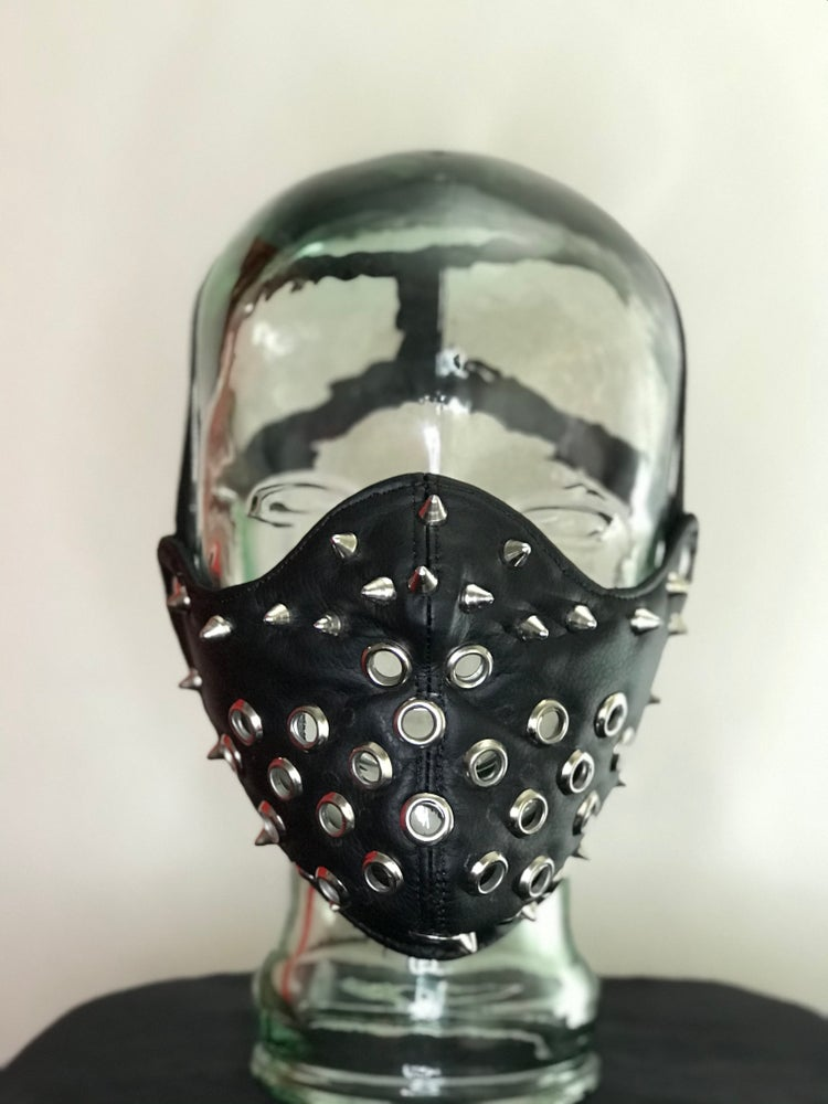 Image of FETISH / BDSM FACE MASK # 1