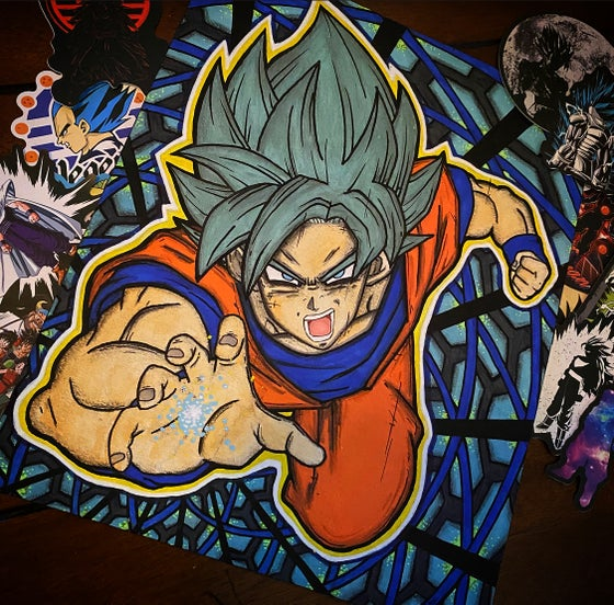 Image of Original Goku painting