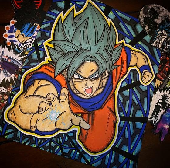 Image of Original Goku painting