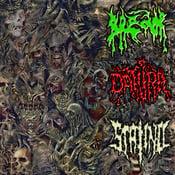 Image of 3 WAY - BREDOR / DATURA / STALINO Donbass Brutal Syndicate Split Digi CD
