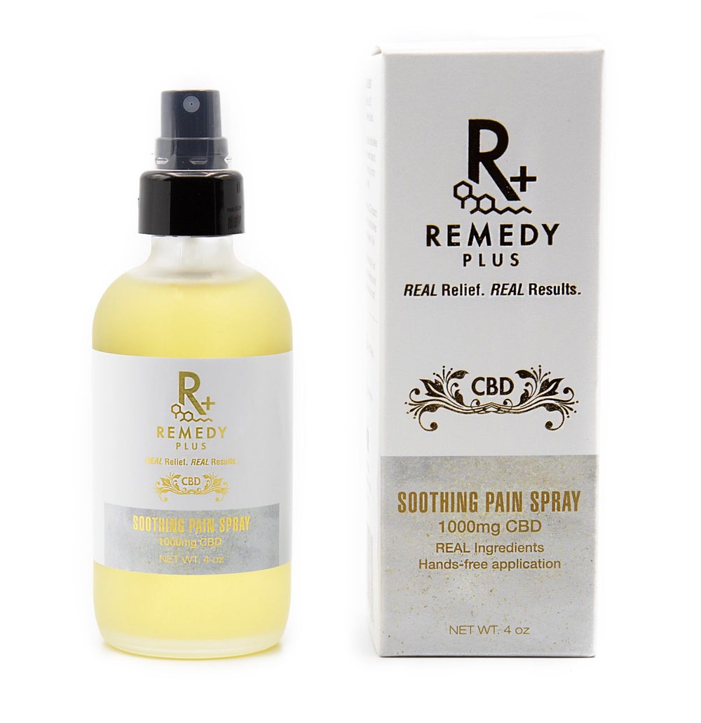 Image of Remedy+ Soothing Pain Spray 1000mg