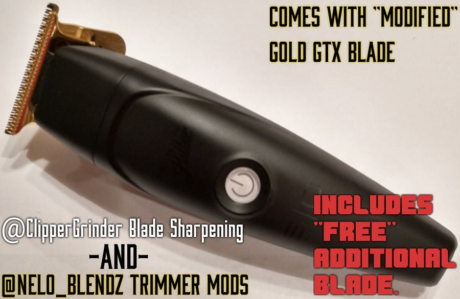 "Image of (3-4 Week Delivery) Stylecraft Absolute Hitter Trimmer W/Gold ""Modified"" GTX Blade"