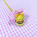 Mofurun Burger Necklace