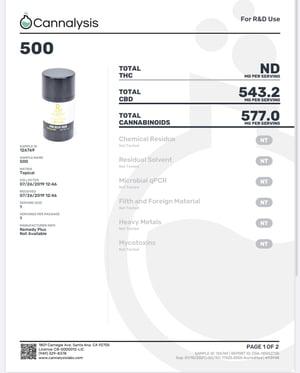 Remedy+ CBD Pain Relief Balm 500mg