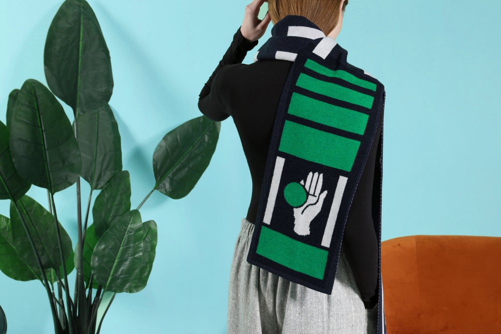 CHANCE Knit Scarf - FOREST