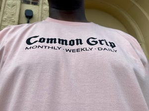 Image of Common Grip x No Brand Logo Magnifying Tee
