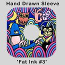 Image of HAND DRAWN RECORD SLEEVE  'FAT INK #3' (1 of 1)
