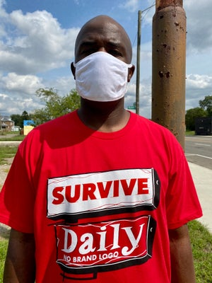 Image of Survive Daily Tee