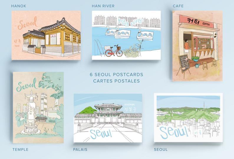 Image of Seoul Postcards