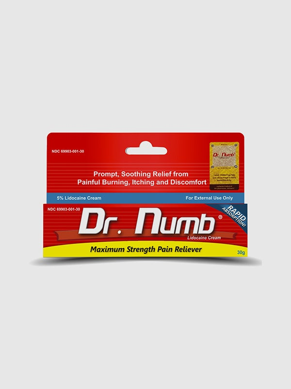 Image of Dr. Numb Numbing Cream