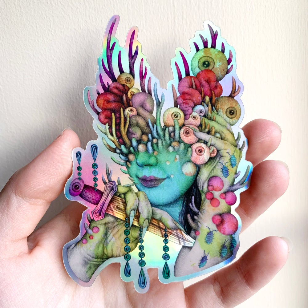 Image of Holo 'Sacred Rite' Sticker