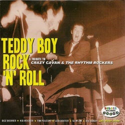 """Image of """"Teddy Boy Rock 'n' Roll"""" Tribute Album Catalogue Number: RRCD010"""