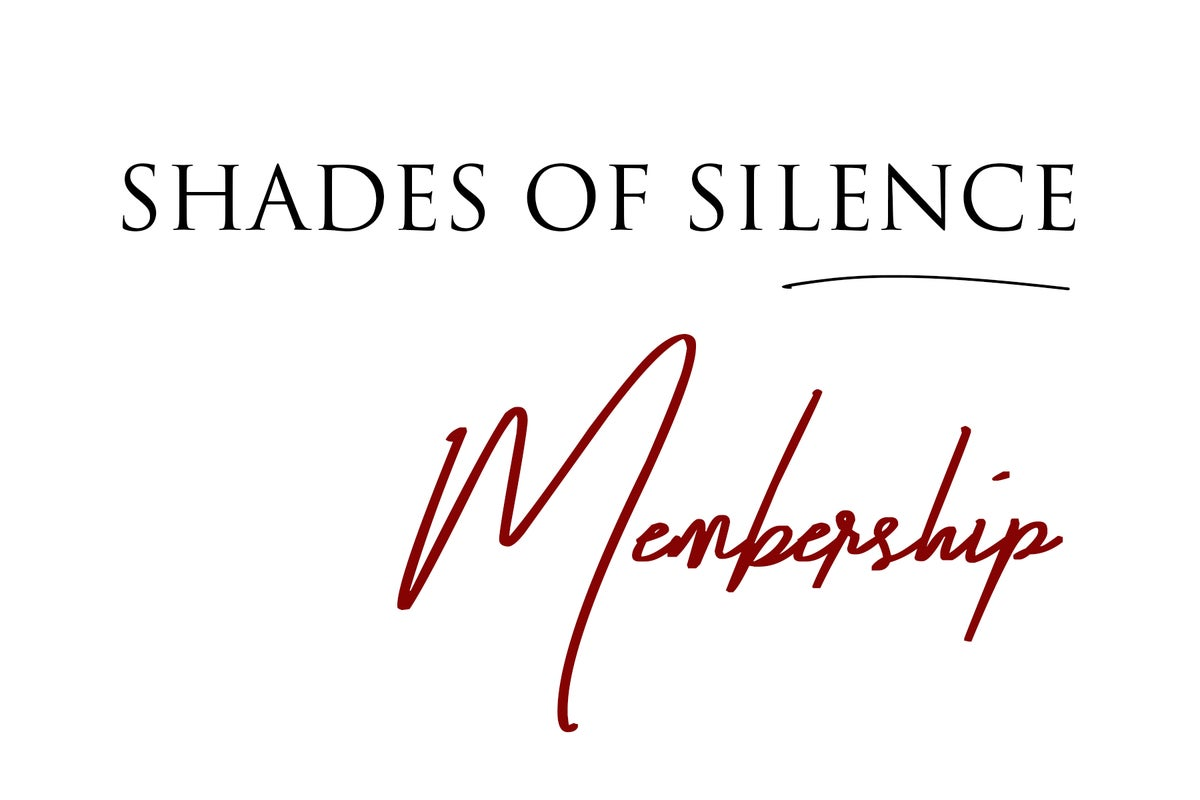 Image of Shades of Silence's Annual Membership $60 / $120