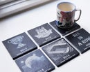 Image 3 of Dublin Football Champions Six in a Row - 6 piece Coaster Set