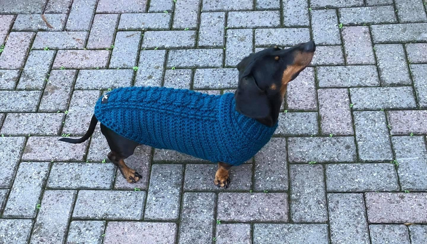 Image of Snazzy Rustic Aran Cable Jumper