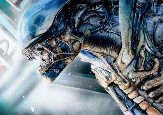 Image of Alien(A4 print)