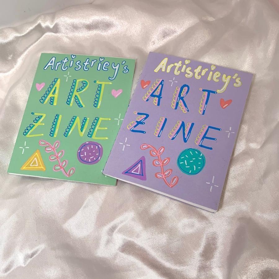 Image of 2020 art zines