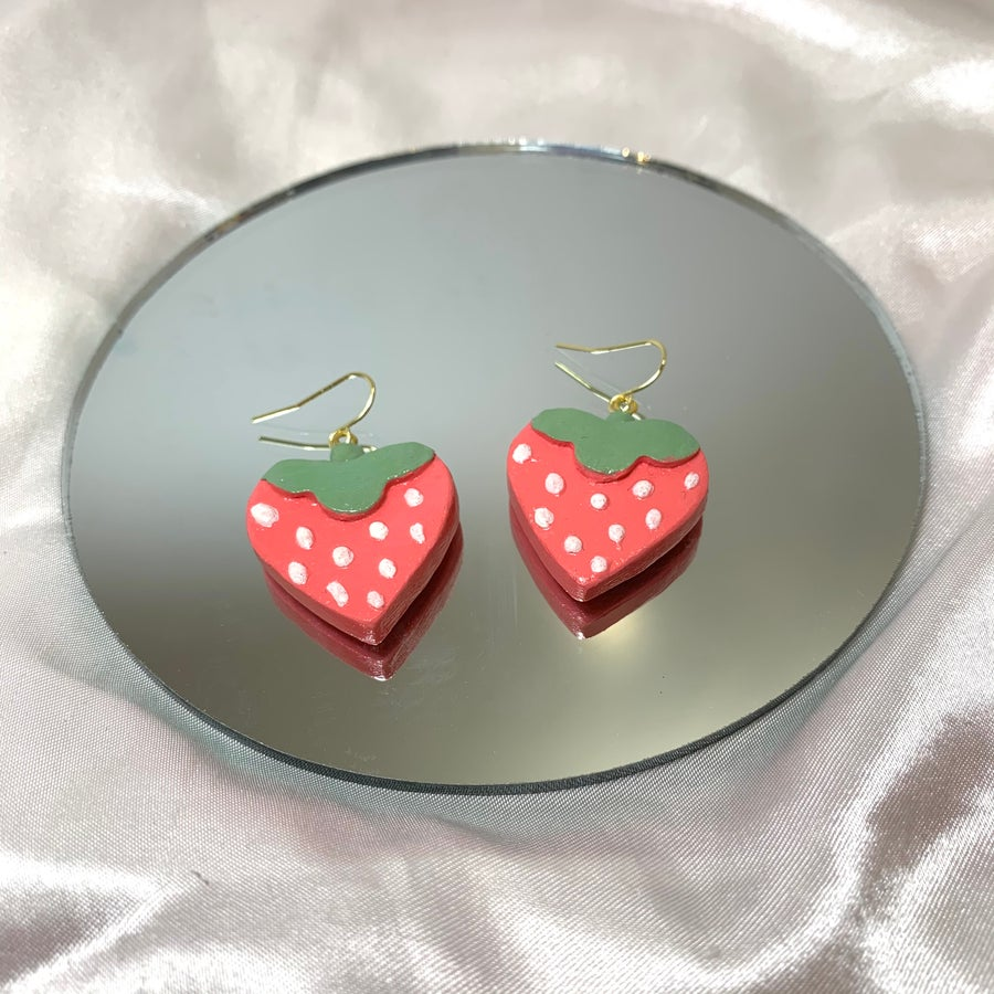 Image of strawberry dangles