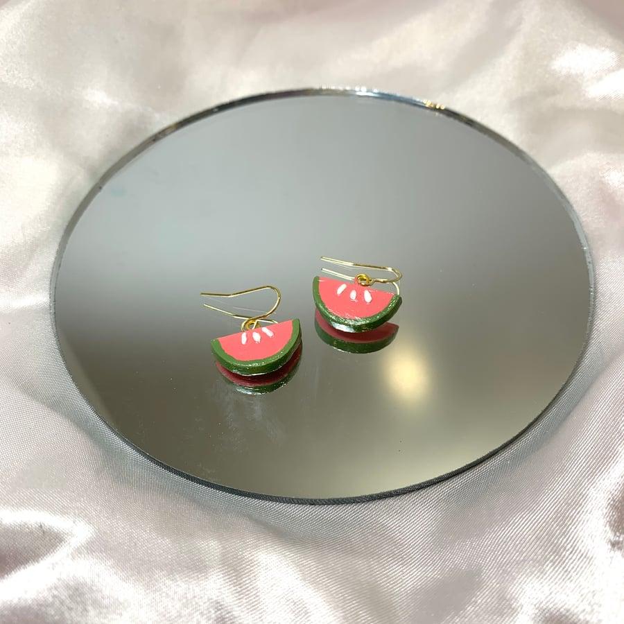 Image of watermelon mini dangles