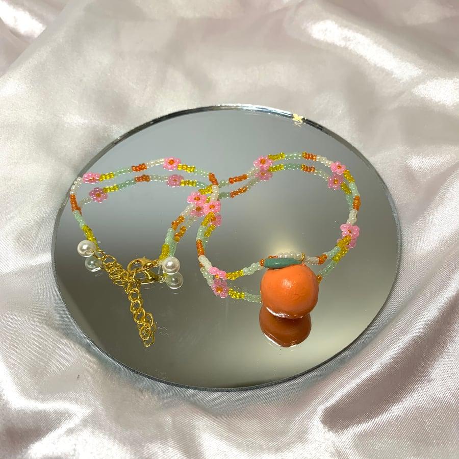 Image of orange necklace