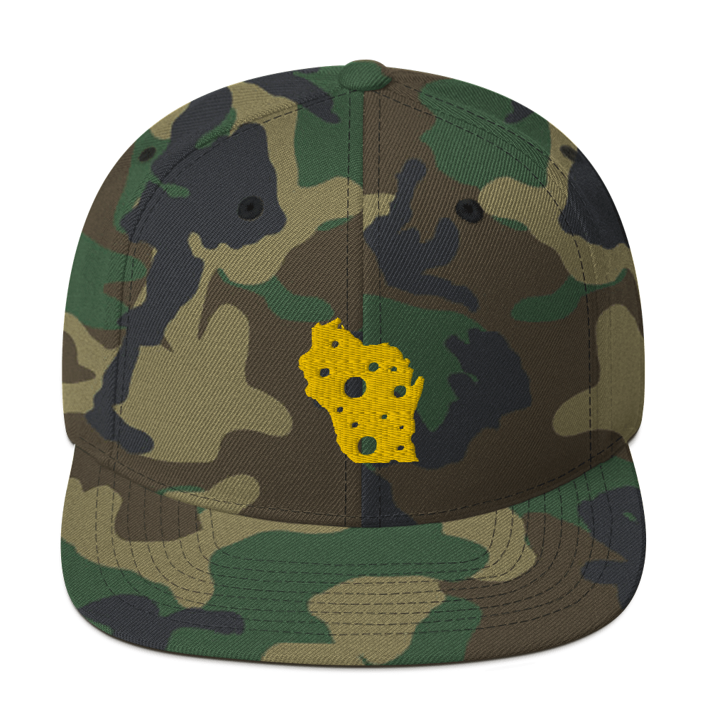 Image of WISCONSIN CHEESE / CAMO SNAPBACK