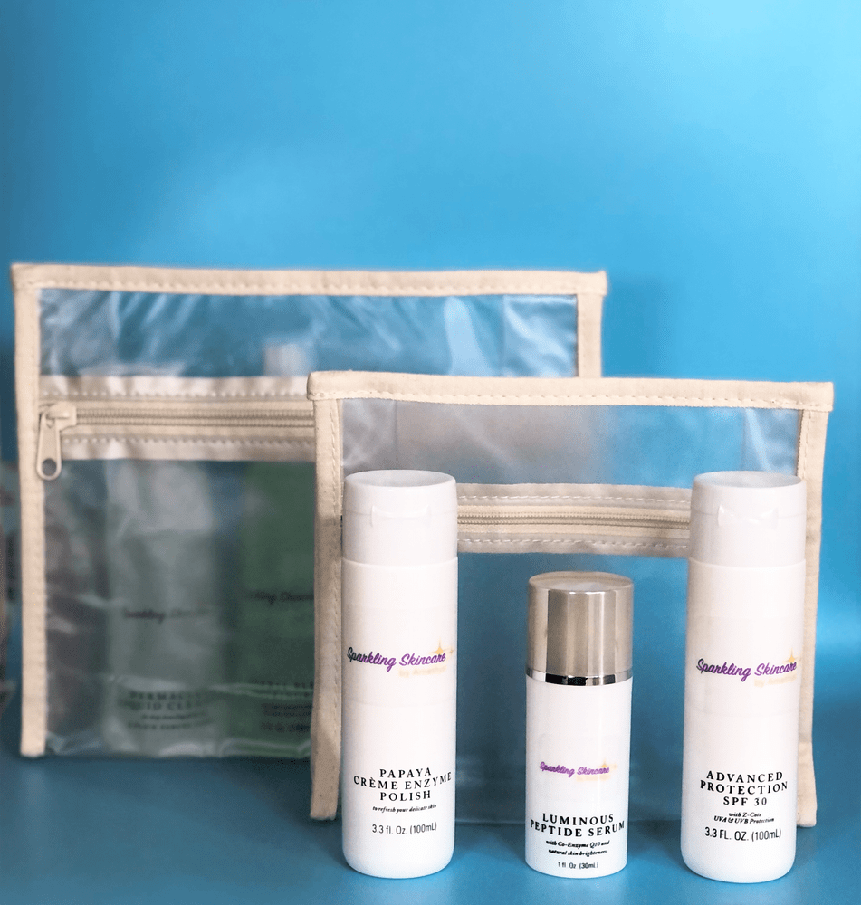 Image of Sparkling Skincare Kit: Normal - Oily