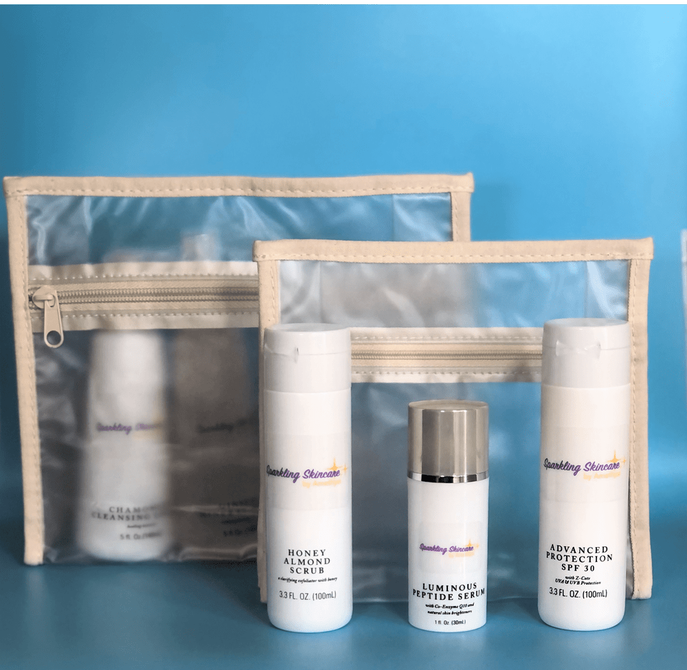 Image of Sparkling Skincare Kit: Normal - Dry