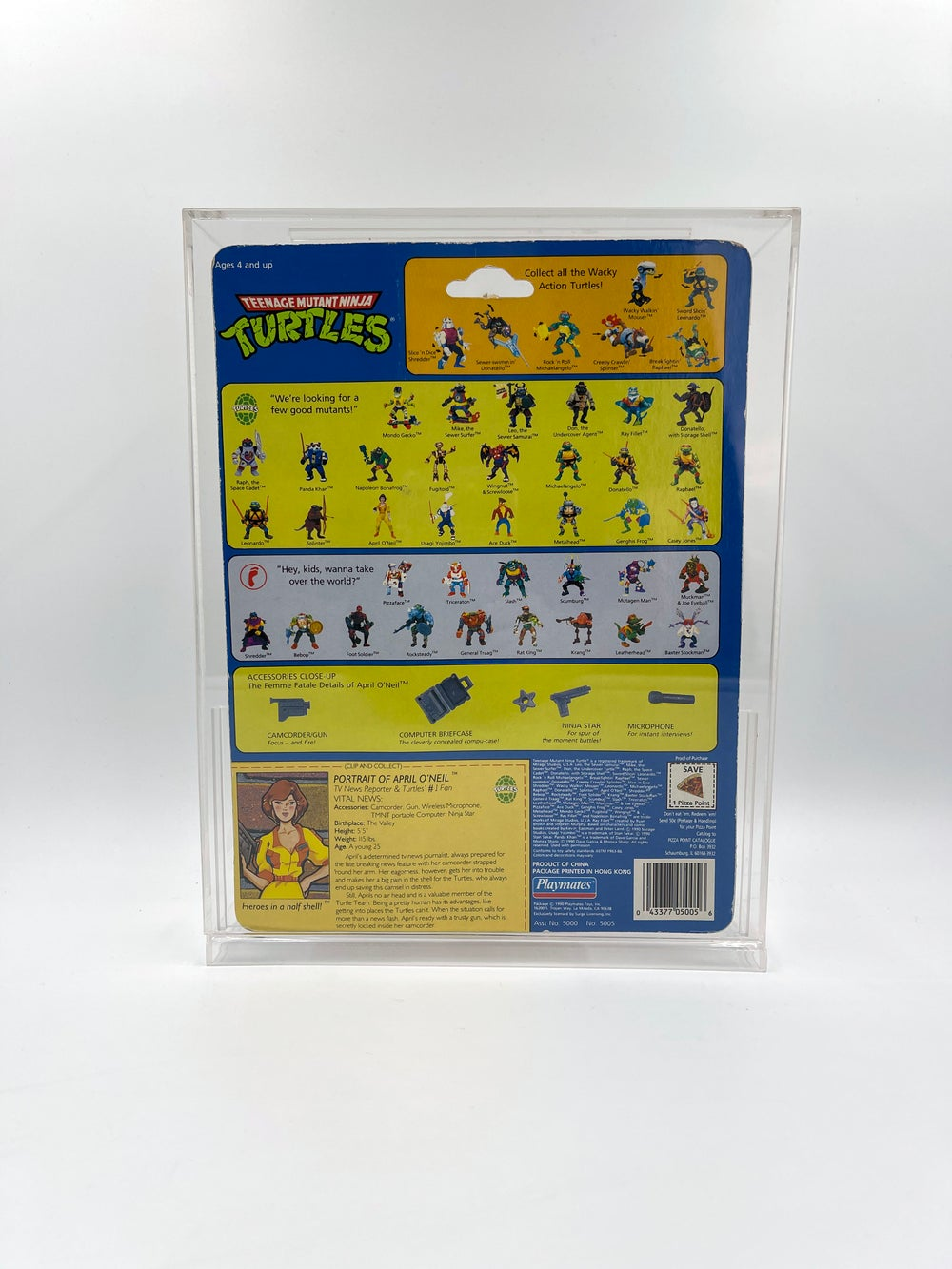 Teenage Mutant Ninja Turtles / Spider-Man Animated Acrylic Cases