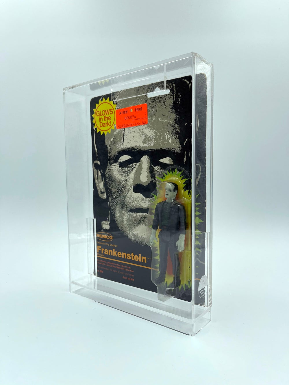 Remco Mini Monsters Acrylic Case!