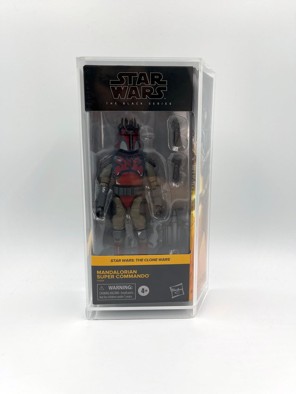 New Star Wars Black Series Acrylic Case A  - Pre-order