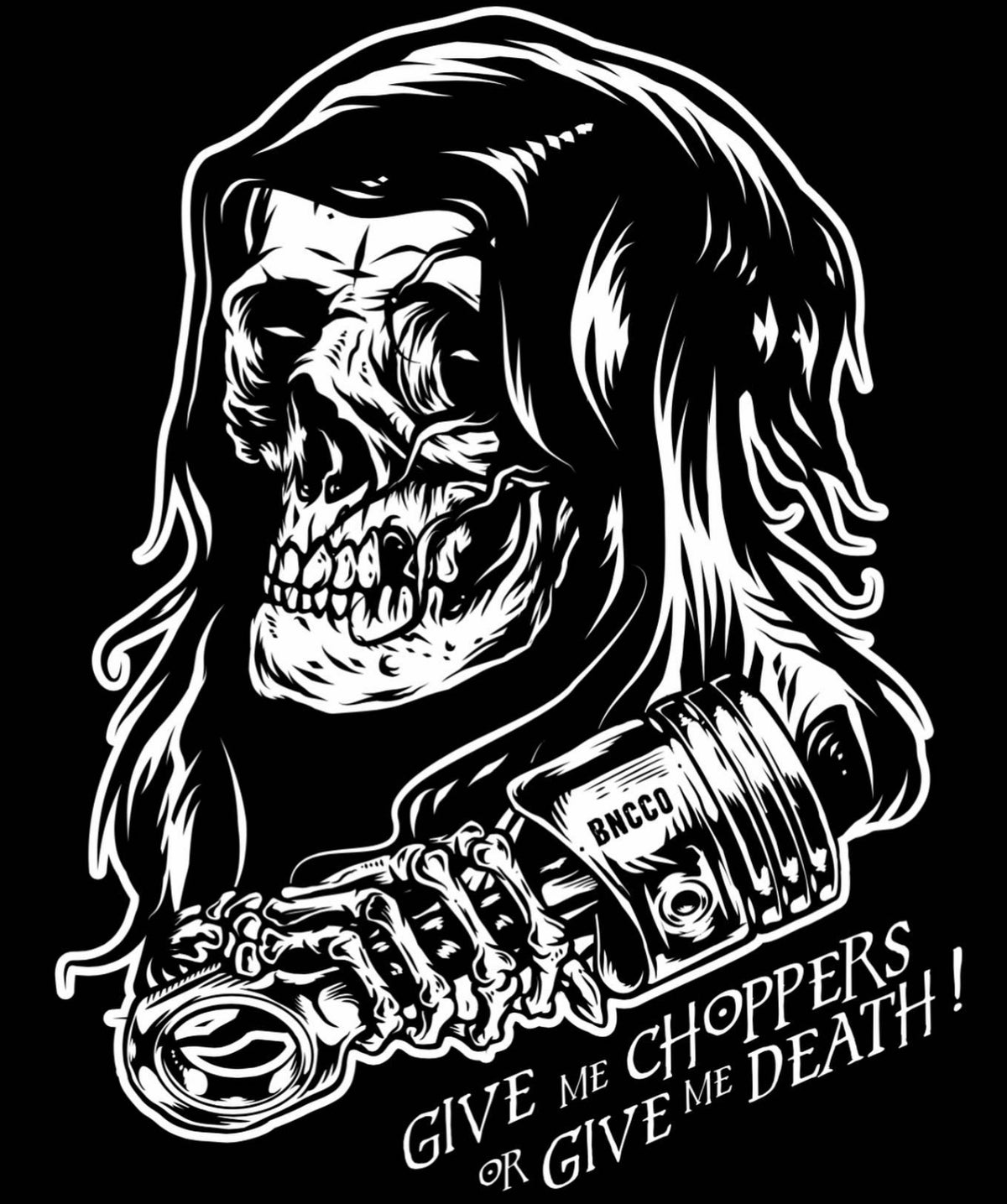 Image of Choppers Or Death Tee