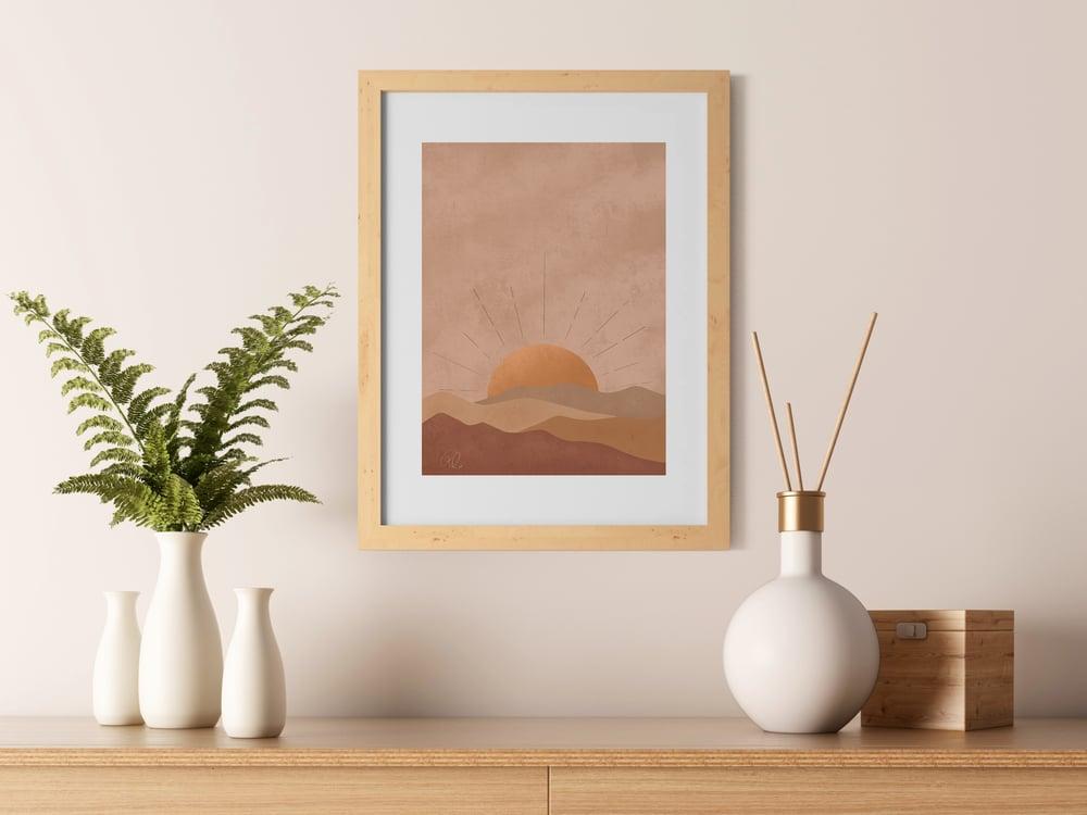 Image of Sunset Art Print