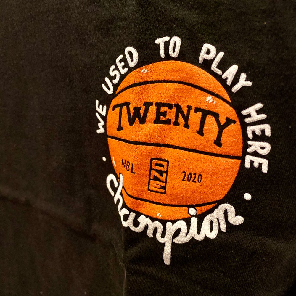 We Used To Play Here 21 Basketball Tee