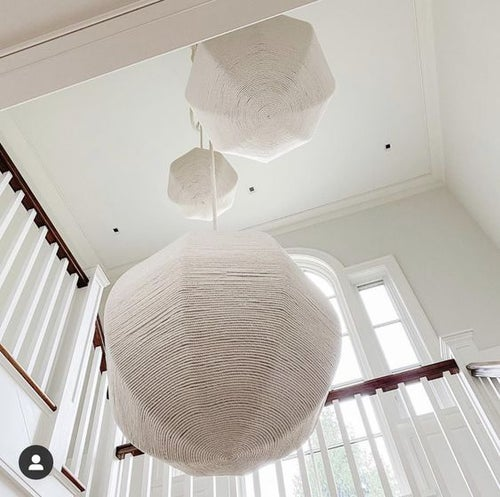 Image of Rope Wrapped Globes