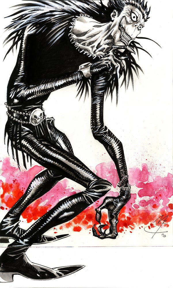 Image of Ryuk from Deathnote