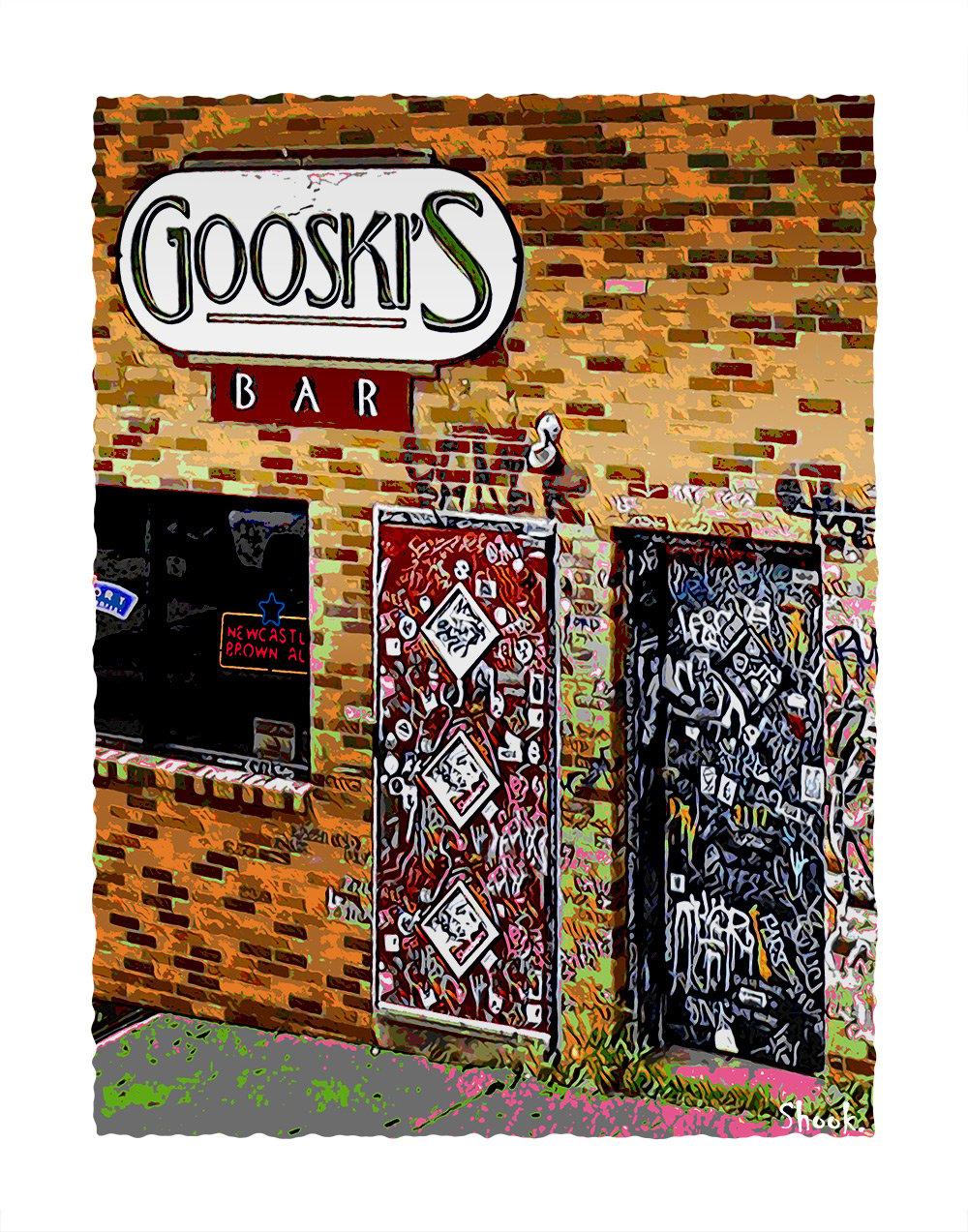"Gooski's Pittsburgh Giclée Art Print - 11"" x 14"""