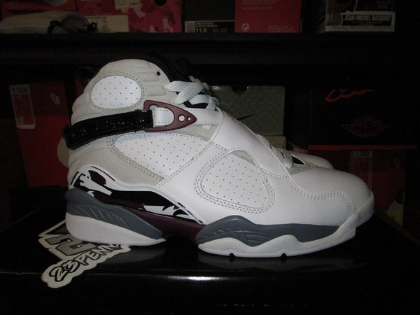 "Air Jordan VIII (8) Retro ""Burgundy"" WMNS - areaGS - KIDS SIZE ONLY"