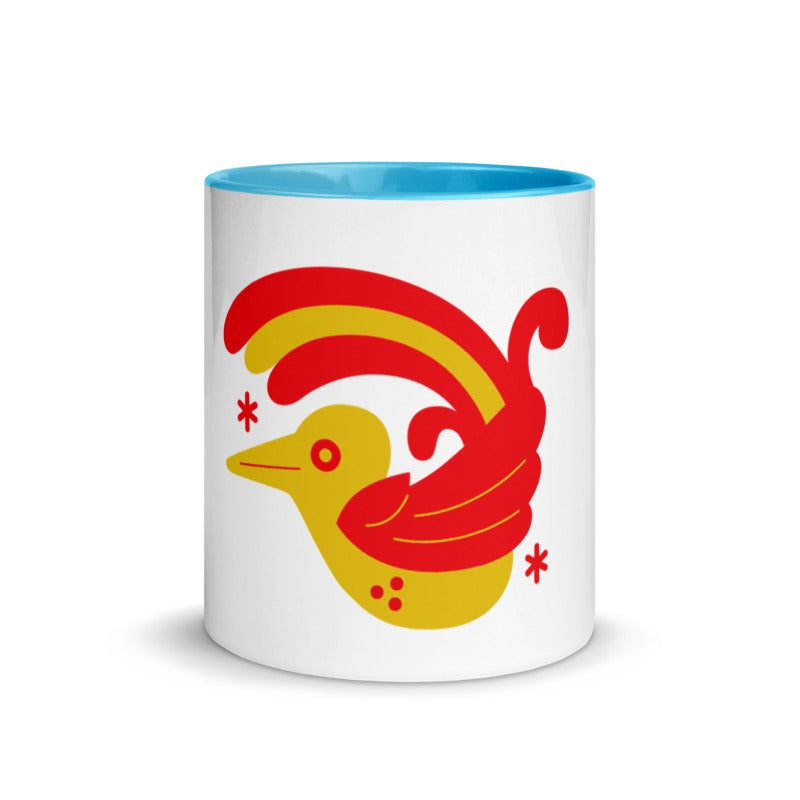 PAJARO TENANGO Mug with Color Inside