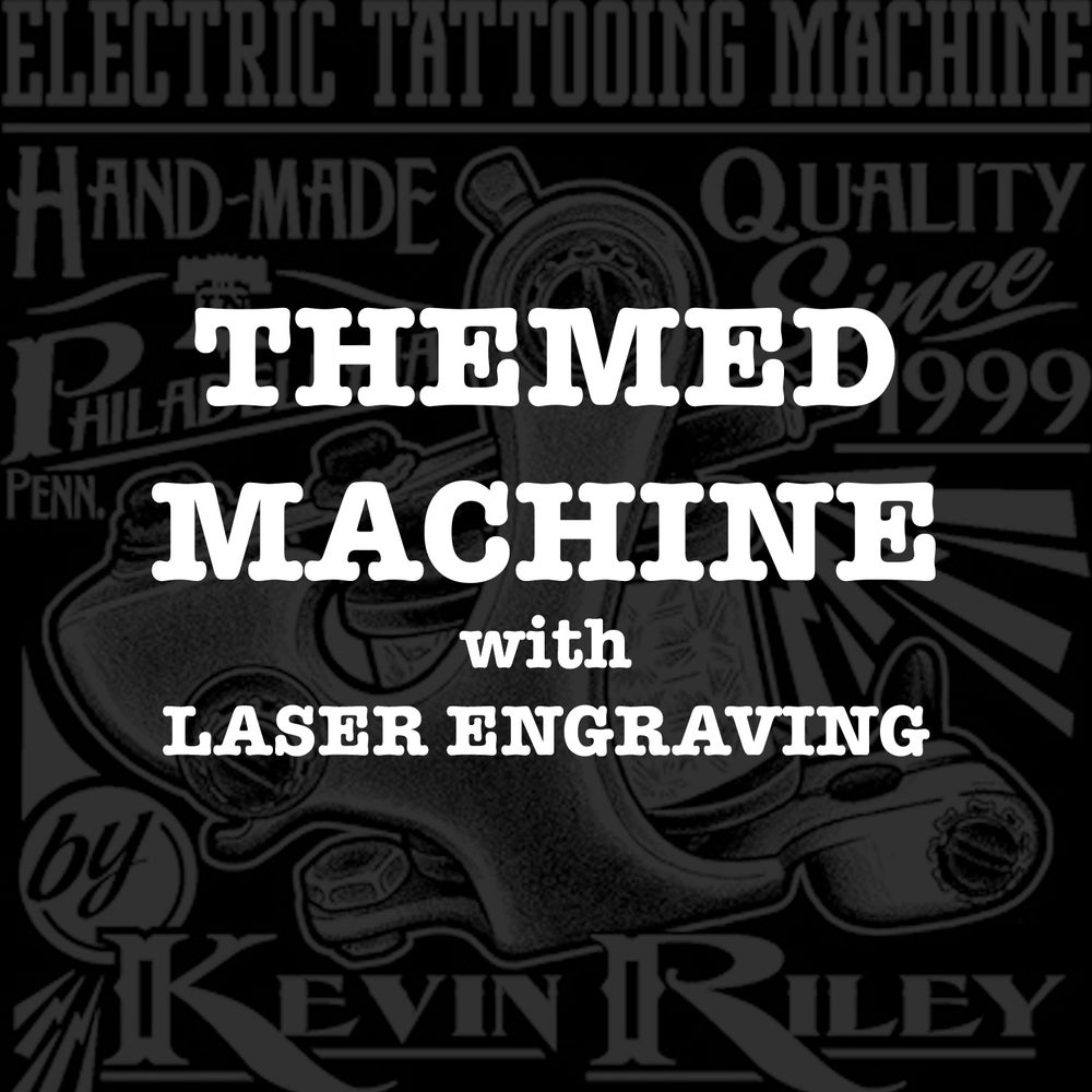 Image of Themed Machine with Laser Engraving