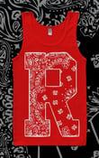 """Image of Renegade """"Bandana print"""" Singlet (RED)"""
