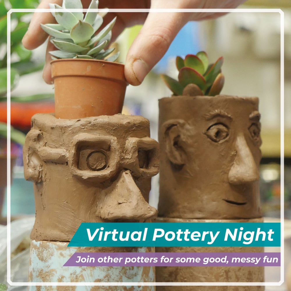 Image of Virtual Pottery Night - Fridays & Saturdays  OR Book A Private Session