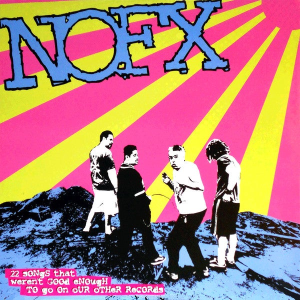Image of NOFX - 22 Songs That Weren't Good Enough To Go On Our Other Records LP