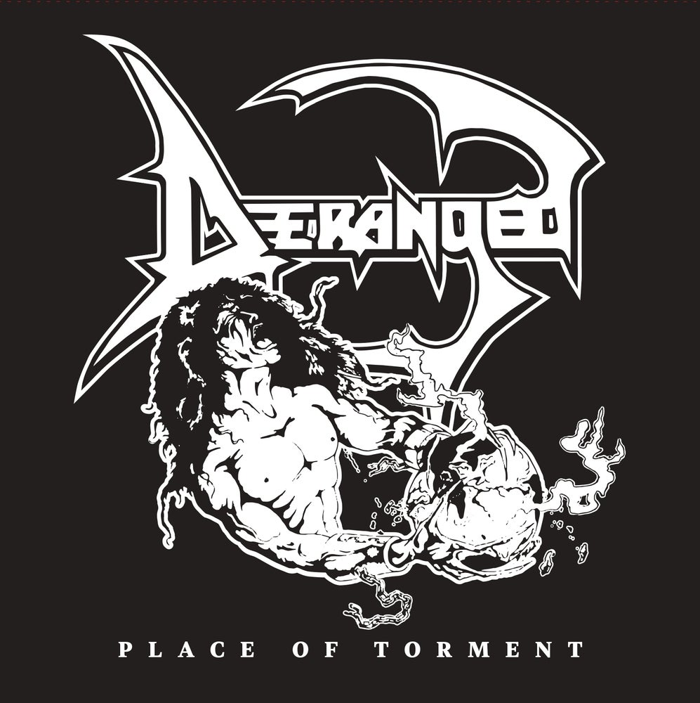 """Image of DERANGED - """"PLACE OF TORMENT"""" 12"""" EP (1989)"""